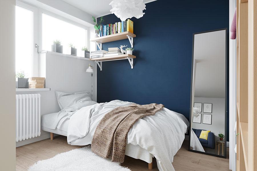 Idee per arredare un monolocale con Ikea n.06