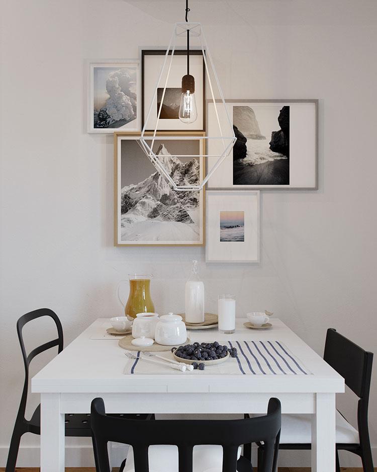 Idee per arredare un monolocale con Ikea n.12