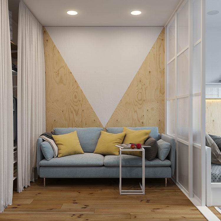 Idee per arredare un monolocale con Ikea n.15