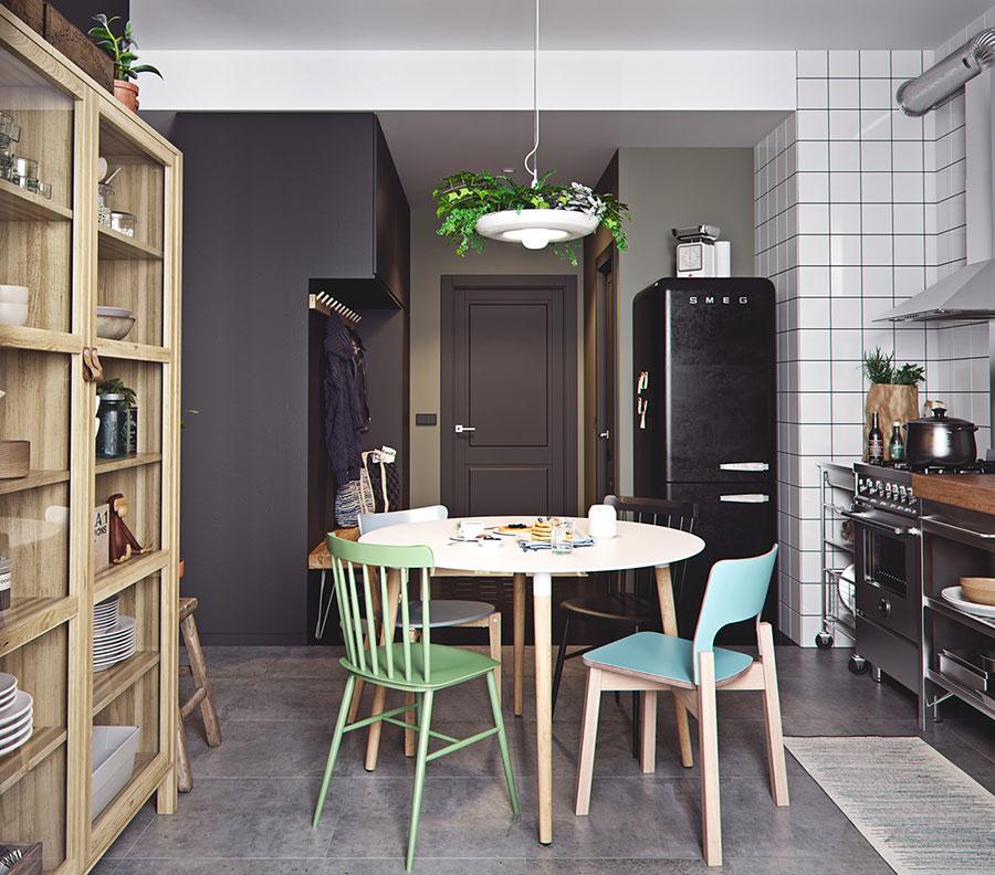 Idee per arredare un monolocale con Ikea n.21
