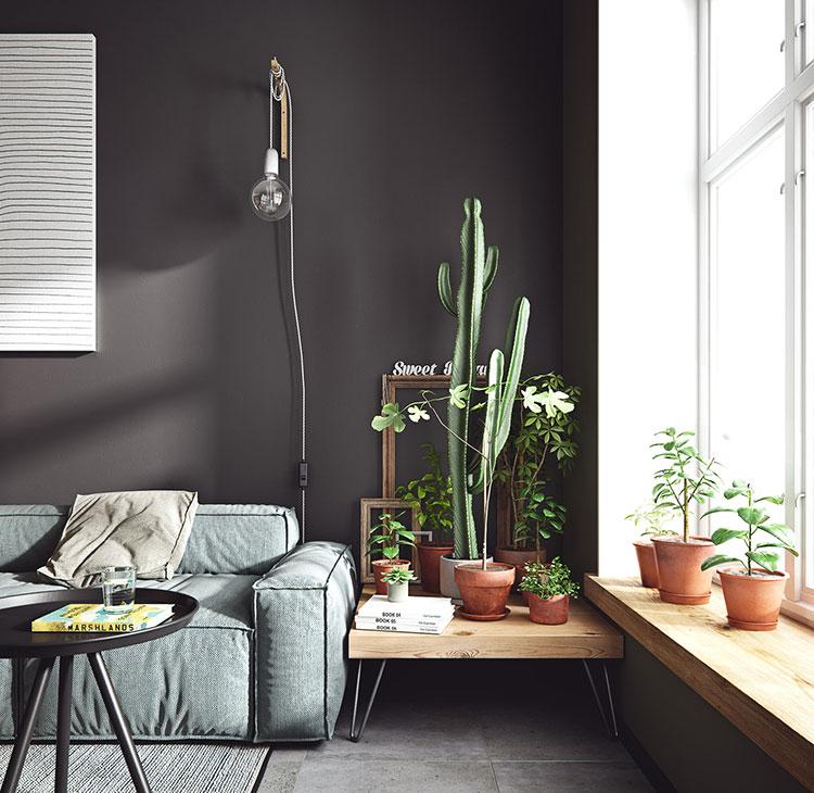 Idee per arredare un monolocale con Ikea n.25