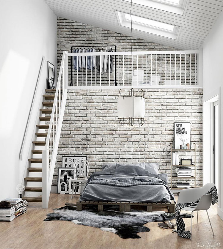 Stunning Camere Con Soppalco Images - Amazing House Design ...