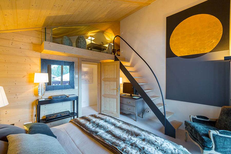 Camera da letto con soppalco salvaspazio n.05