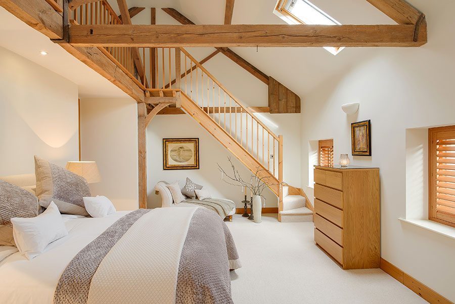 Camera da letto con soppalco salvaspazio n.16