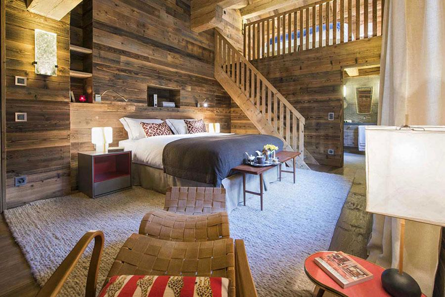 Camera da letto con soppalco salvaspazio n.18