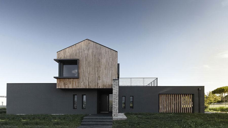Progetto di casa in legno in Friuli di Domus Gaia