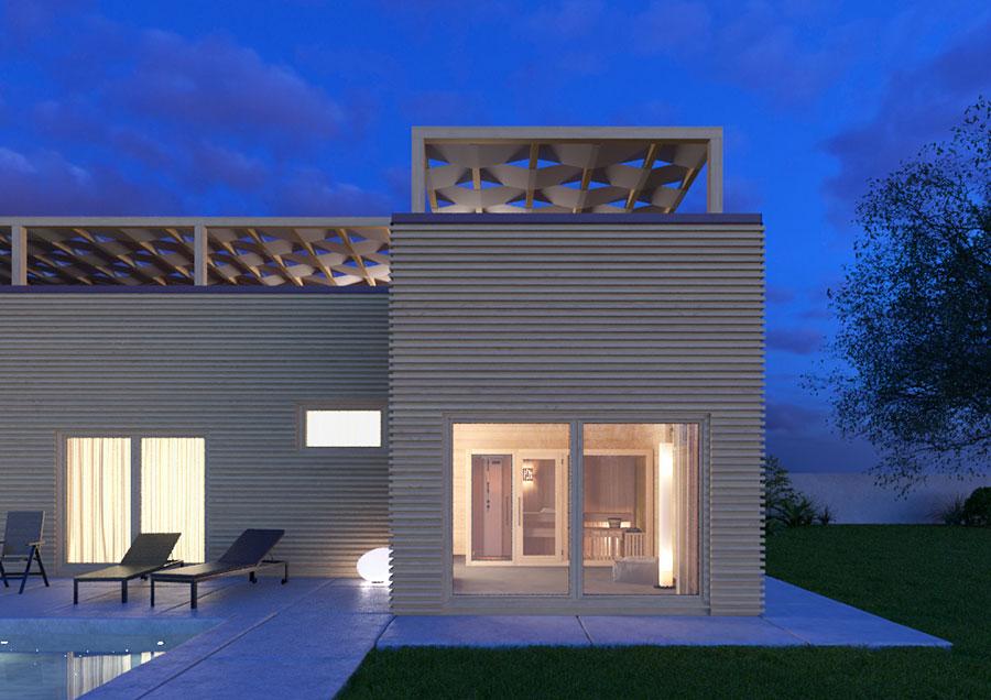 Progetto di casa in legno in Friuli di Edil Legno