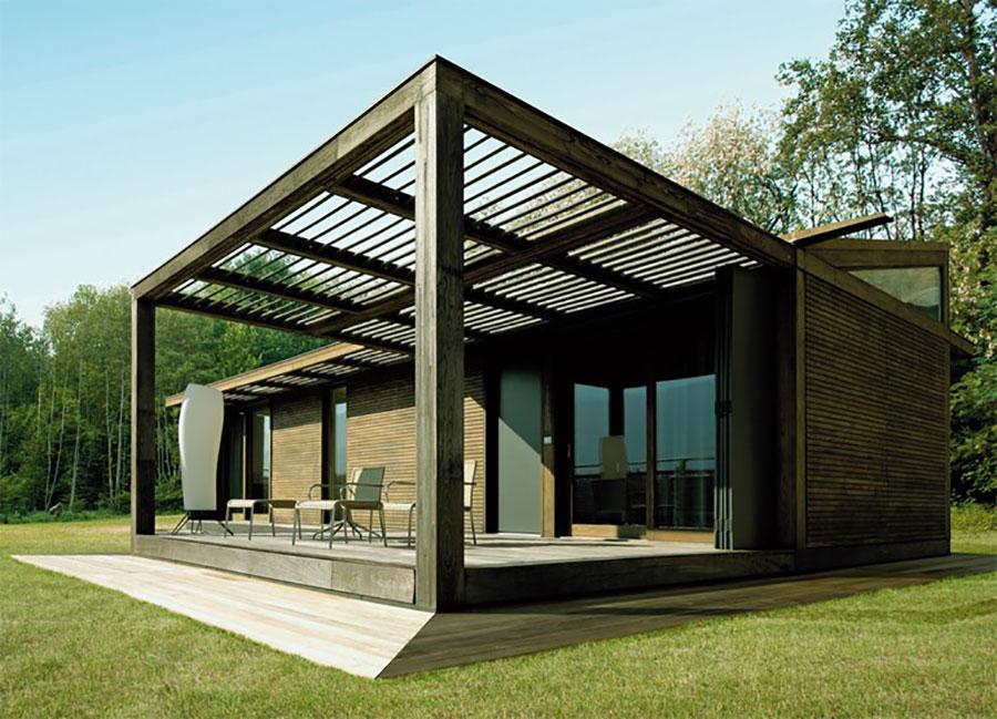 Progetto di casa in legno in Friuli di Legnolandia