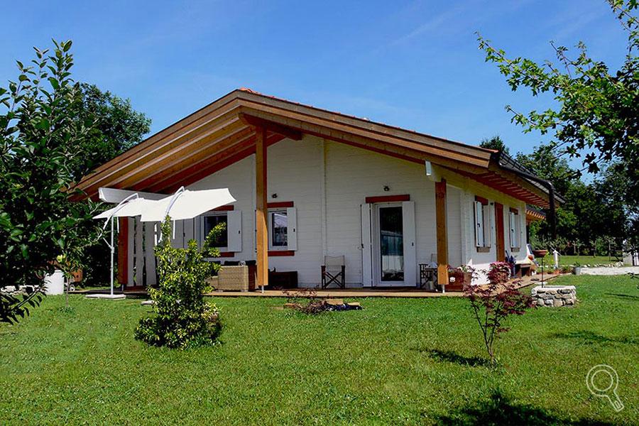 Progetto di casa in legno in Friuli di Vivere ne legno