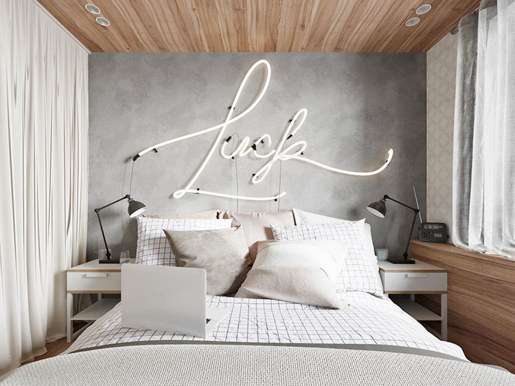 Decorazioni per pareti della camera da letto 125 idee for Decorare la camera matrimoniale