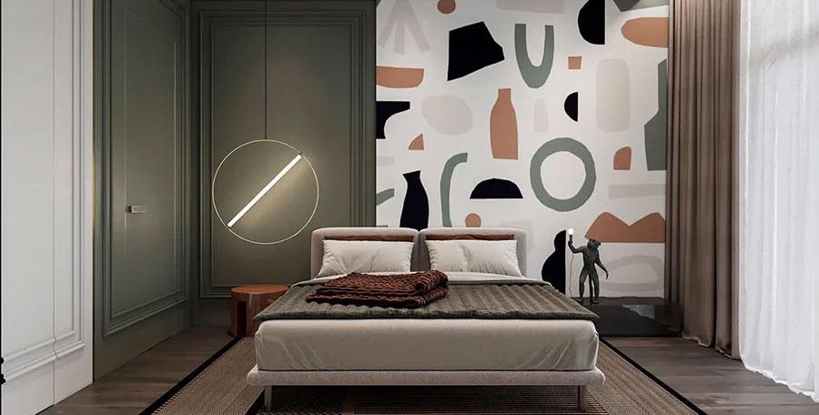 Come decorare le pareti della camera da letto