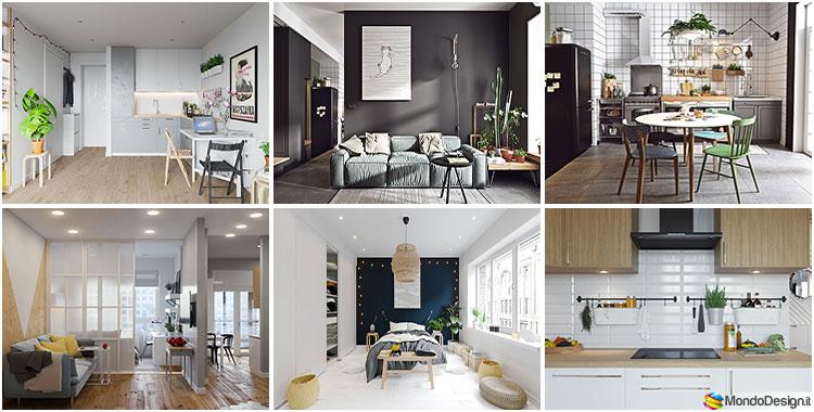 Monolocale ikea tante idee originali per arredare piccoli - Idee originali per arredare casa ...