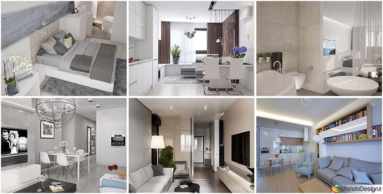 Come arredare una casa di 90 mq ecco 5 progetti di design for Arredare appartamento