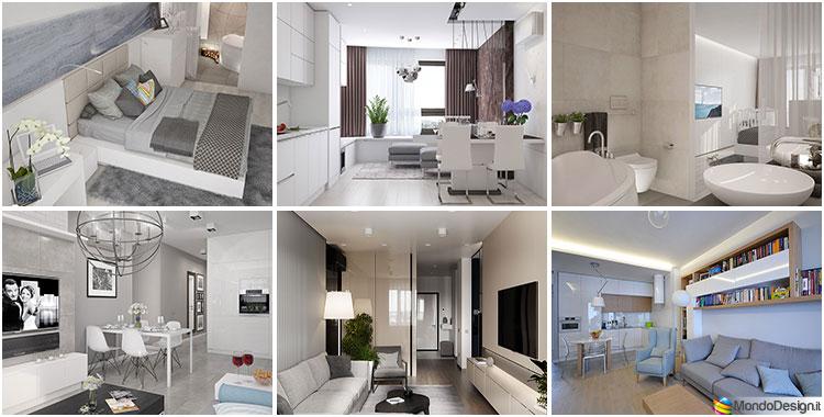 Come arredare una casa di 90 mq ecco 5 progetti di design - Progetto casa 80 mq ...
