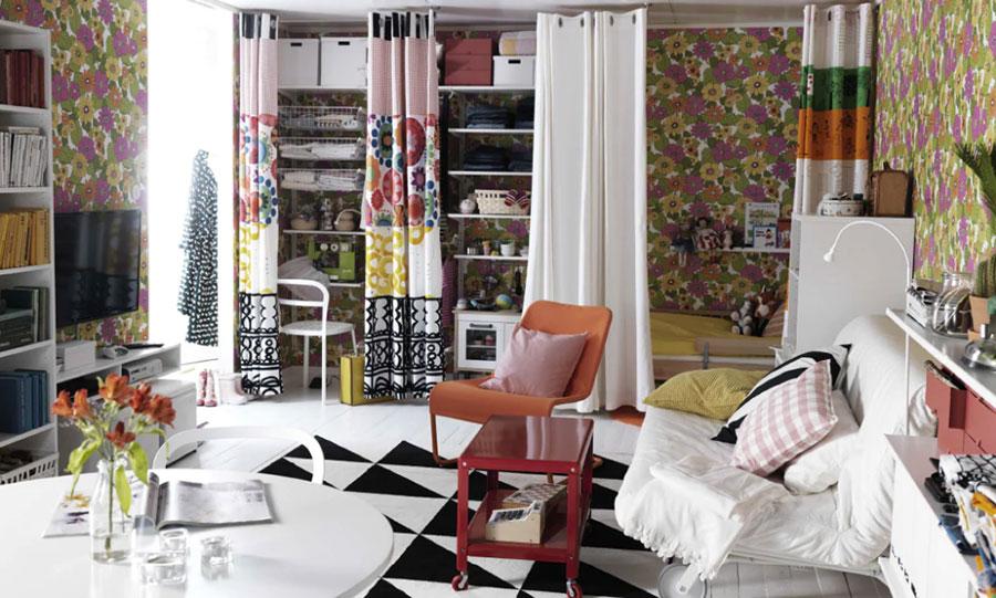 Idee per arredare un monolocale con Ikea n.41