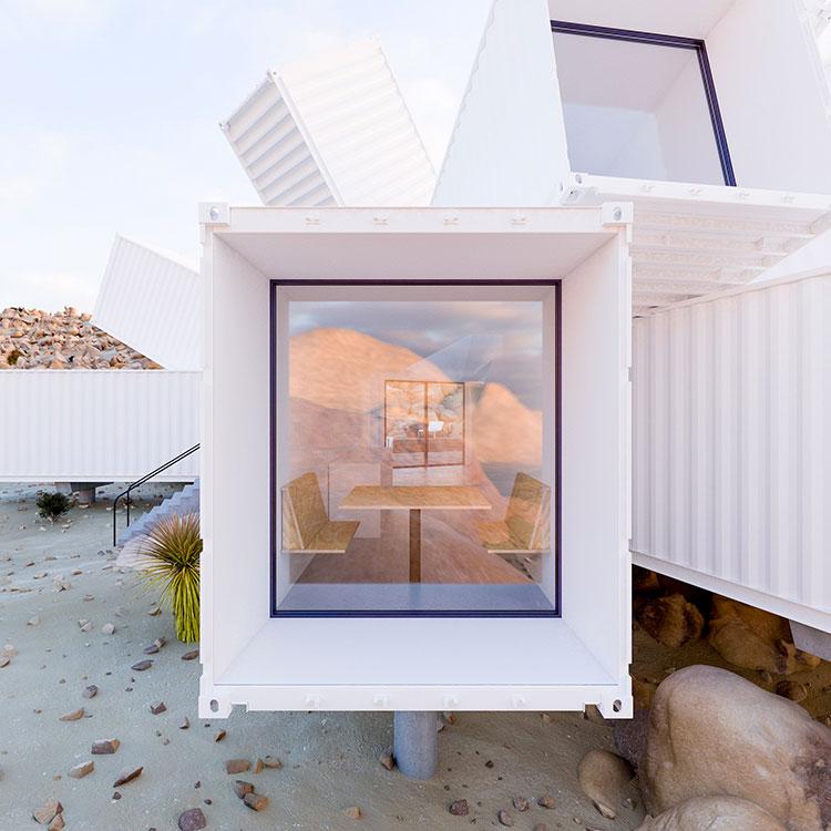 Progetto da sogno per casa container di lusso n.04
