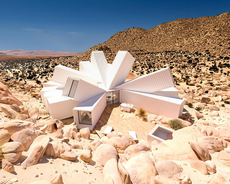 Progetto da sogno per casa container di lusso n.10