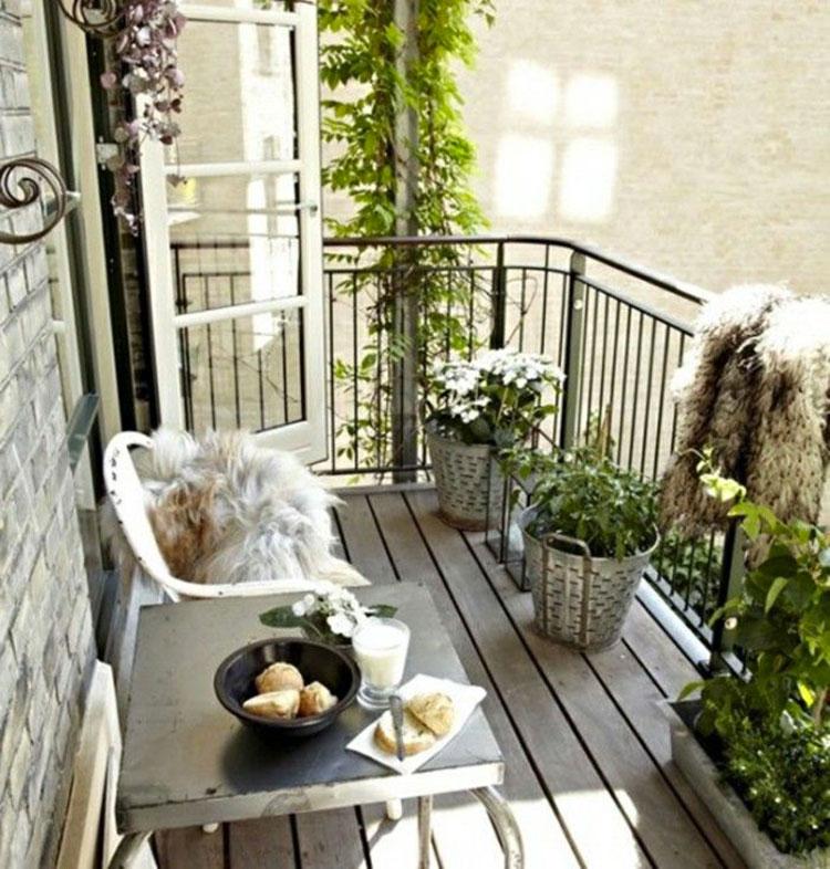 Arredi e accessori per terrazzo shabby chic n.12