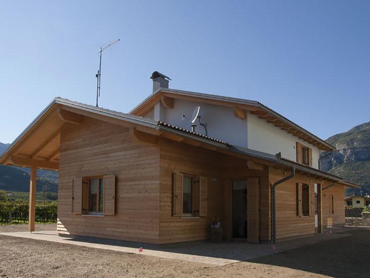 Casa in legno di Biohabitat