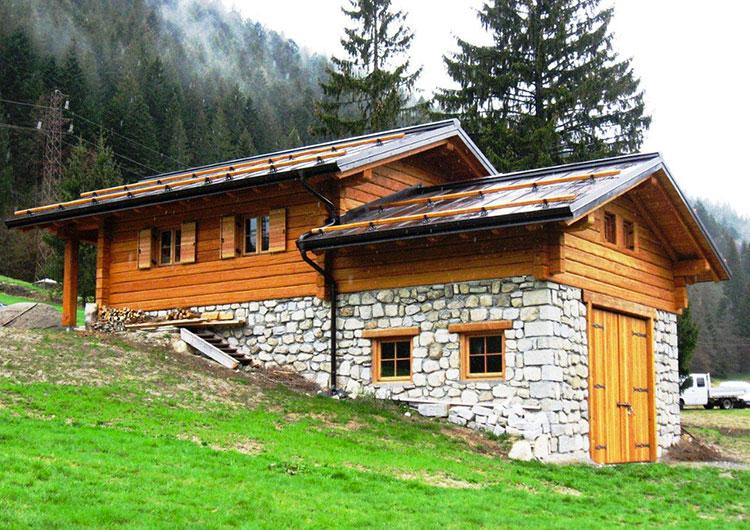 Casa in legno di Carpenteria Battisti