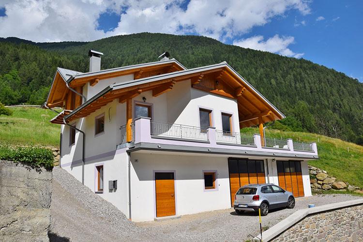Casa in legno di Essetp