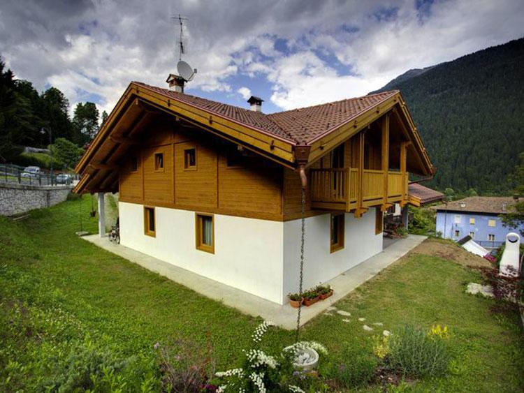 Casa in legno di Ille case in legno