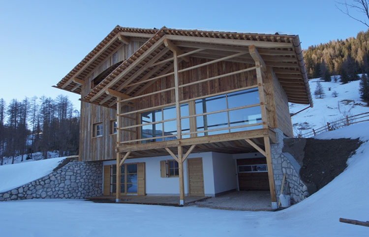 Casa in legno di Nagler holzbau