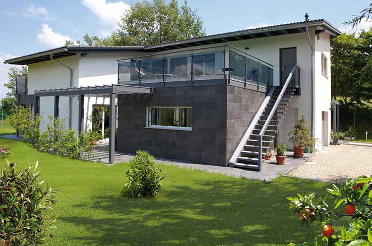 Casa in legno di Spazio positivo