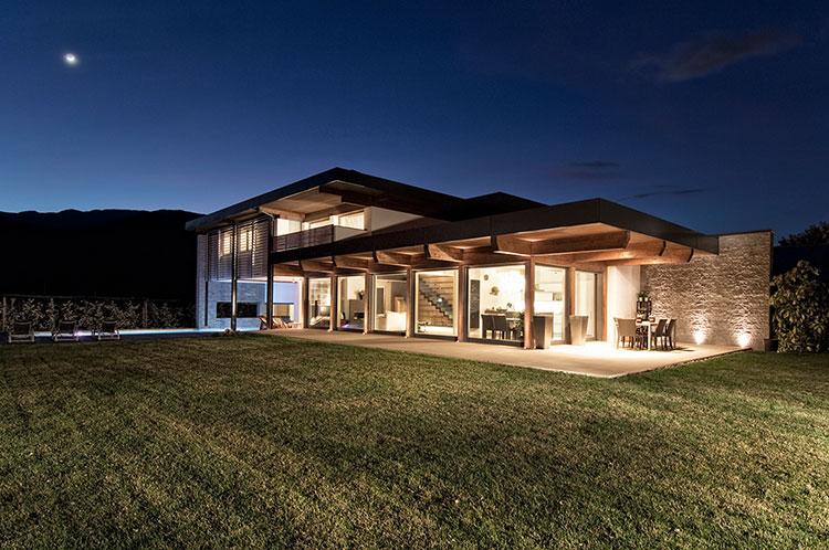 Casa in legno di Suedtirolhaus