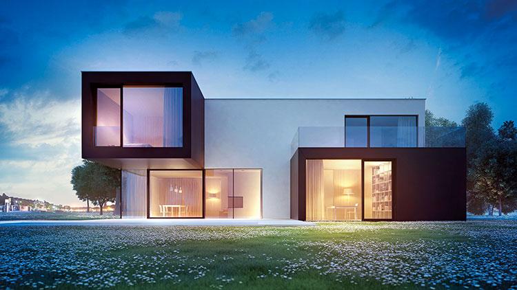 Casa in legno di Wolfhaus