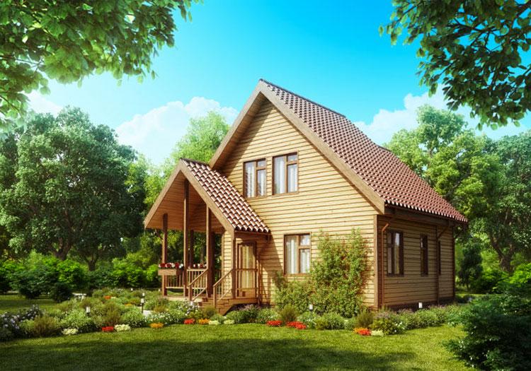 Casa in legno Alpi Haus