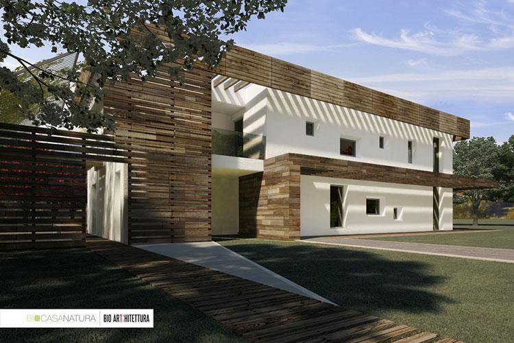 Casa in legno Biocasanatura