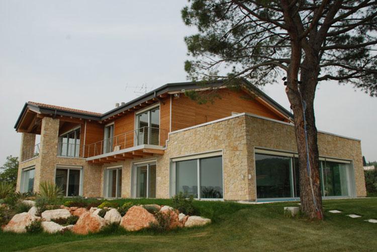 Casa in legno Ecosisthema