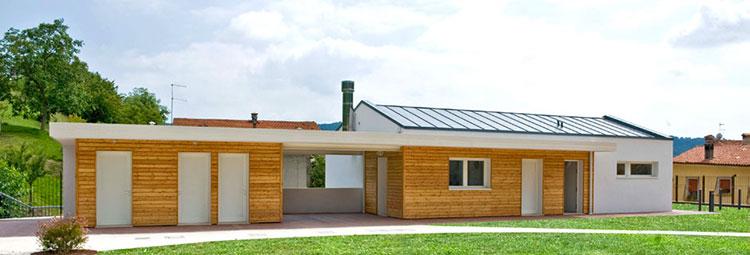 Casa in legno Grosso