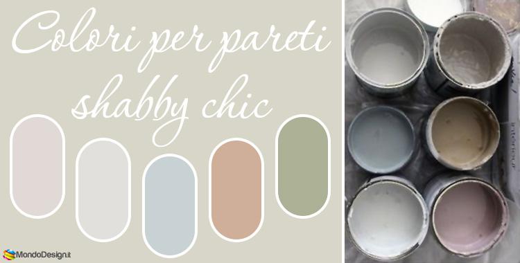 Colori shabby chic