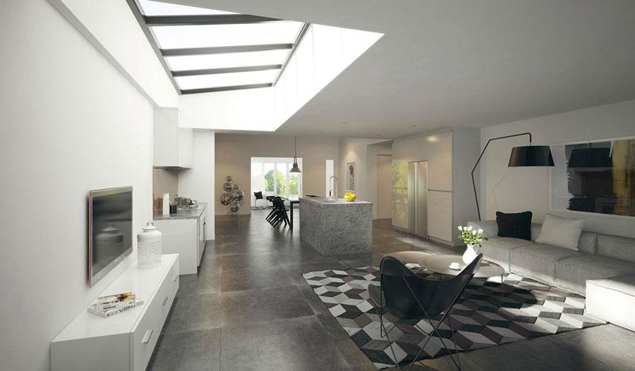 Idee per arredare una cucina open space con isola n.22