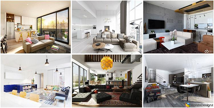 Open Space Cucine Moderne Con Isola Centrale.Cucina Open Space Con Isola 27 Idee Di Design Alle Quali