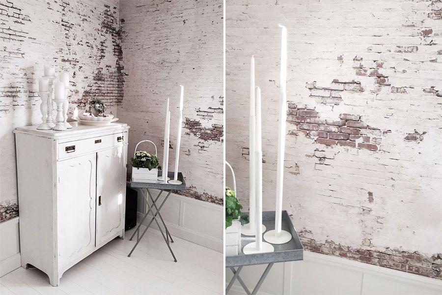 Colori pareti shabby chic guida alle tinte che definiscono lo stile - Idee pittura pareti ...