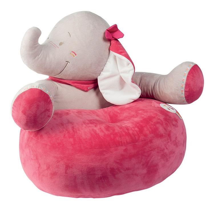 Modello di poltroncina per bambini a forma di animali n.09