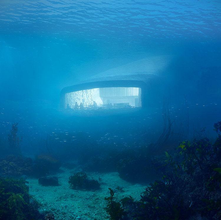 Foto del ristorante subacqueo Under in Norvegia n.1
