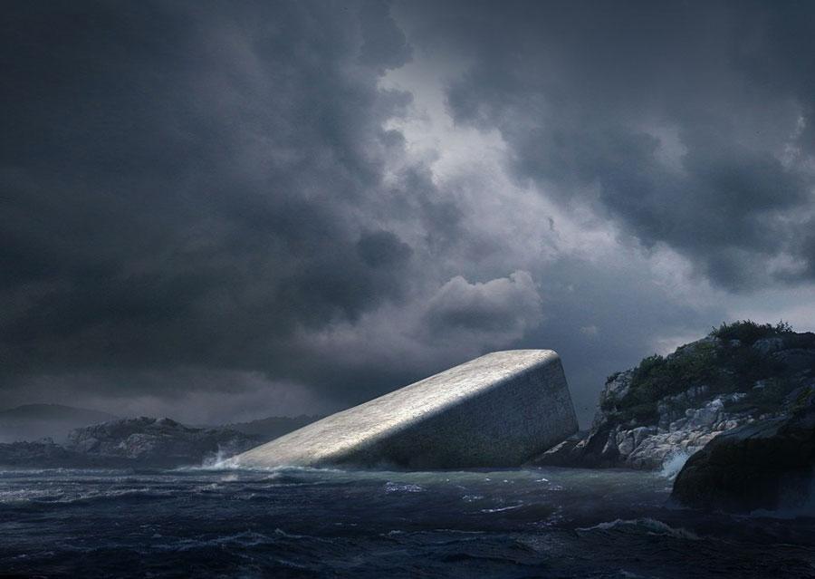 Foto del ristorante subacqueo Under in Norvegia n.2