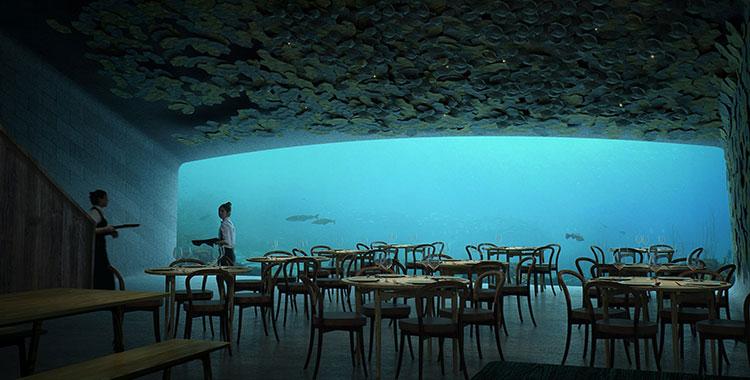 Foto del ristorante subacqueo Under in Norvegia n.3