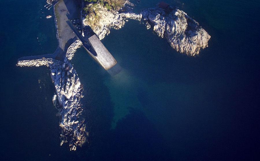 Foto del ristorante subacqueo Under in Norvegia n.4
