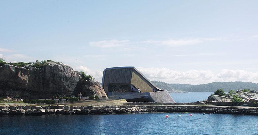 Foto del ristorante subacqueo Under in Norvegia n.5