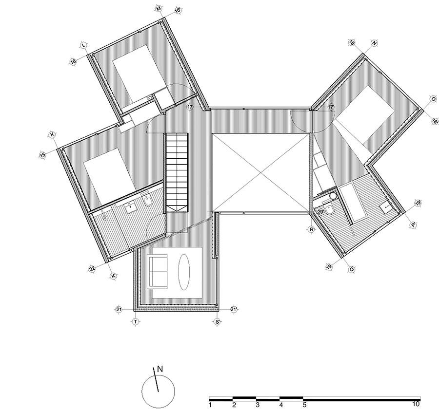Veduta della casa da sogno Sunflower House n.13