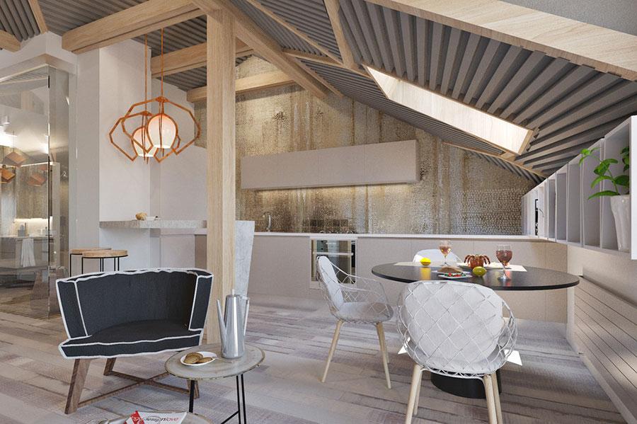 abbastanza Idee per Arredare una Casa Piccola in Stile Moderno | MondoDesign.it FH77