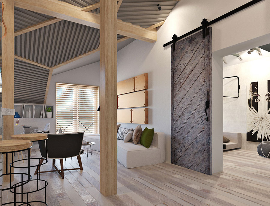 Arredamento per casa piccola in stile moderno n.04