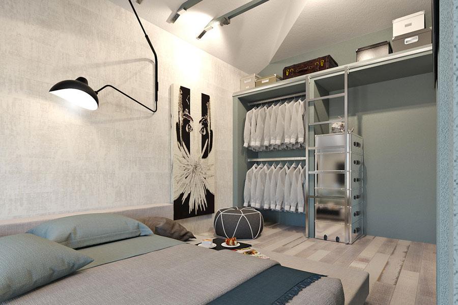 Arredamento per casa piccola in stile moderno n.05