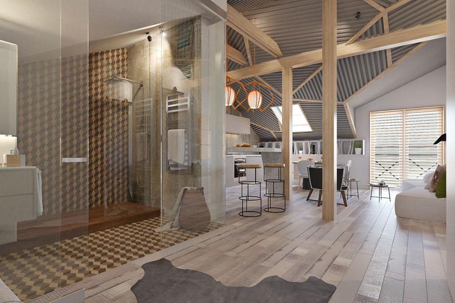 Arredamento per casa piccola in stile moderno n.06