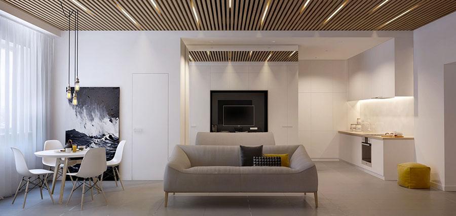idee per arredare una casa piccola in stile moderno